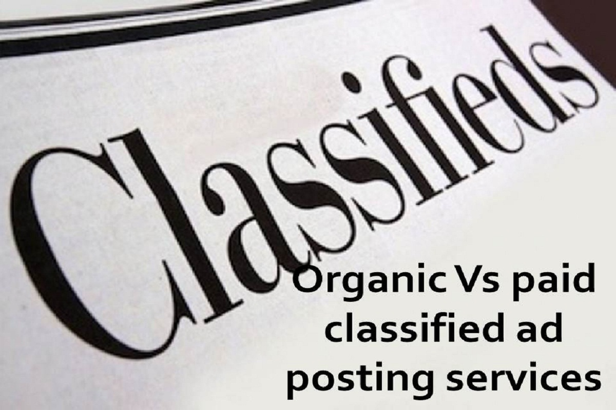 Paid Classified Ads