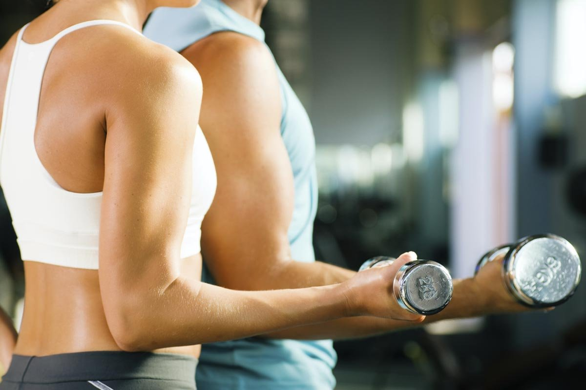 at home arm workouts without weights