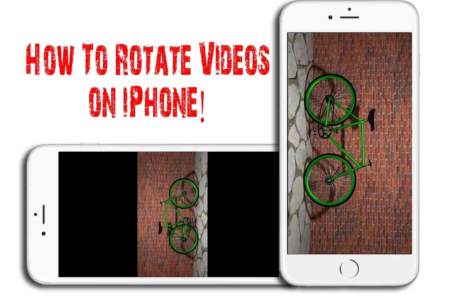 rotate videos on iphone
