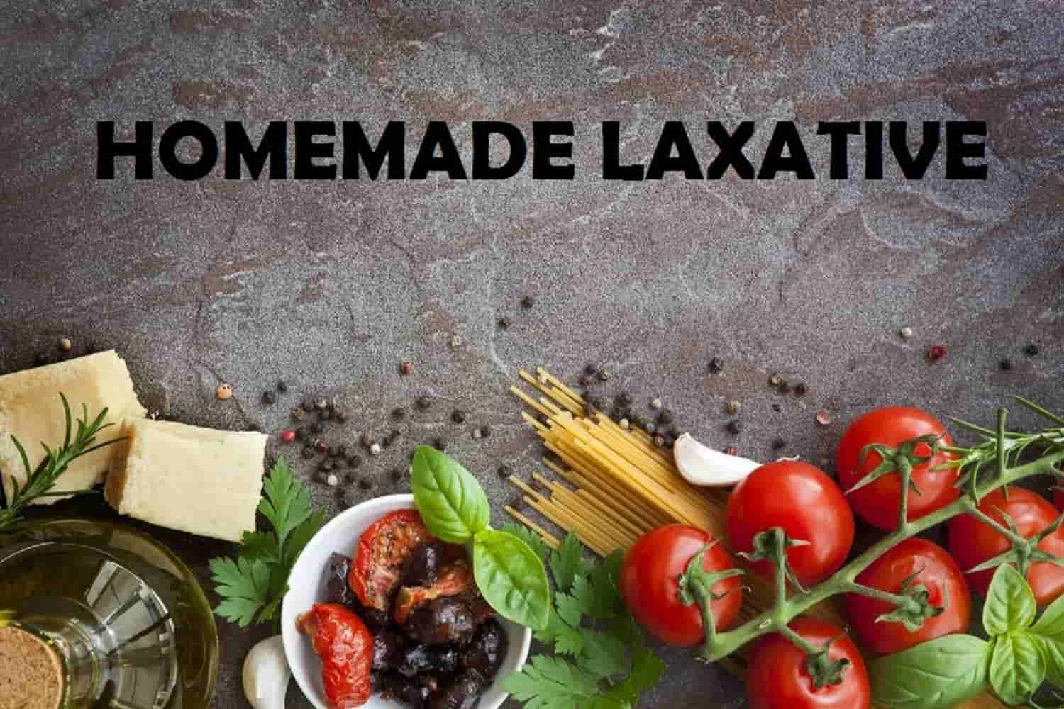 homemade laxative