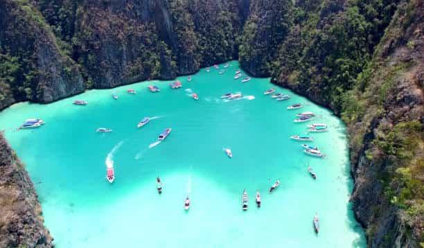 Maya Bay Beach on Phi Phi