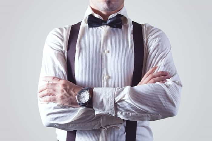 Polka Dots With Bow-Tie For Formal Attire