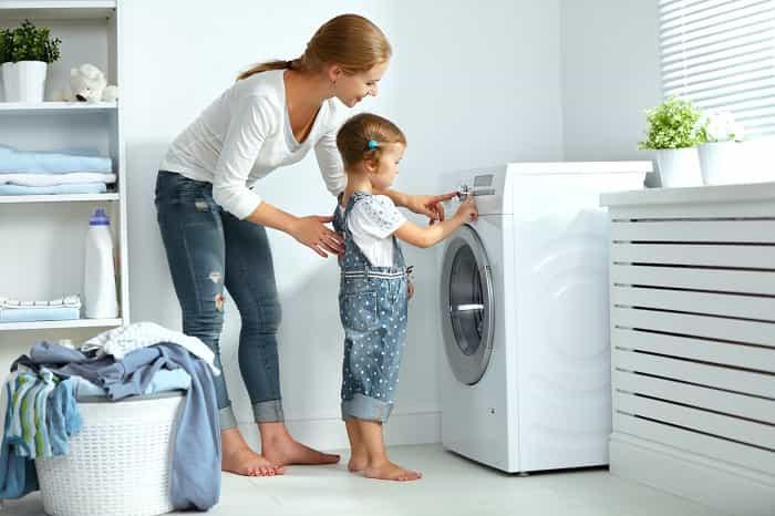 Consider washing your laundry