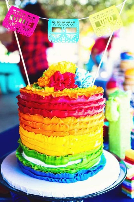 cakes rule baby showers