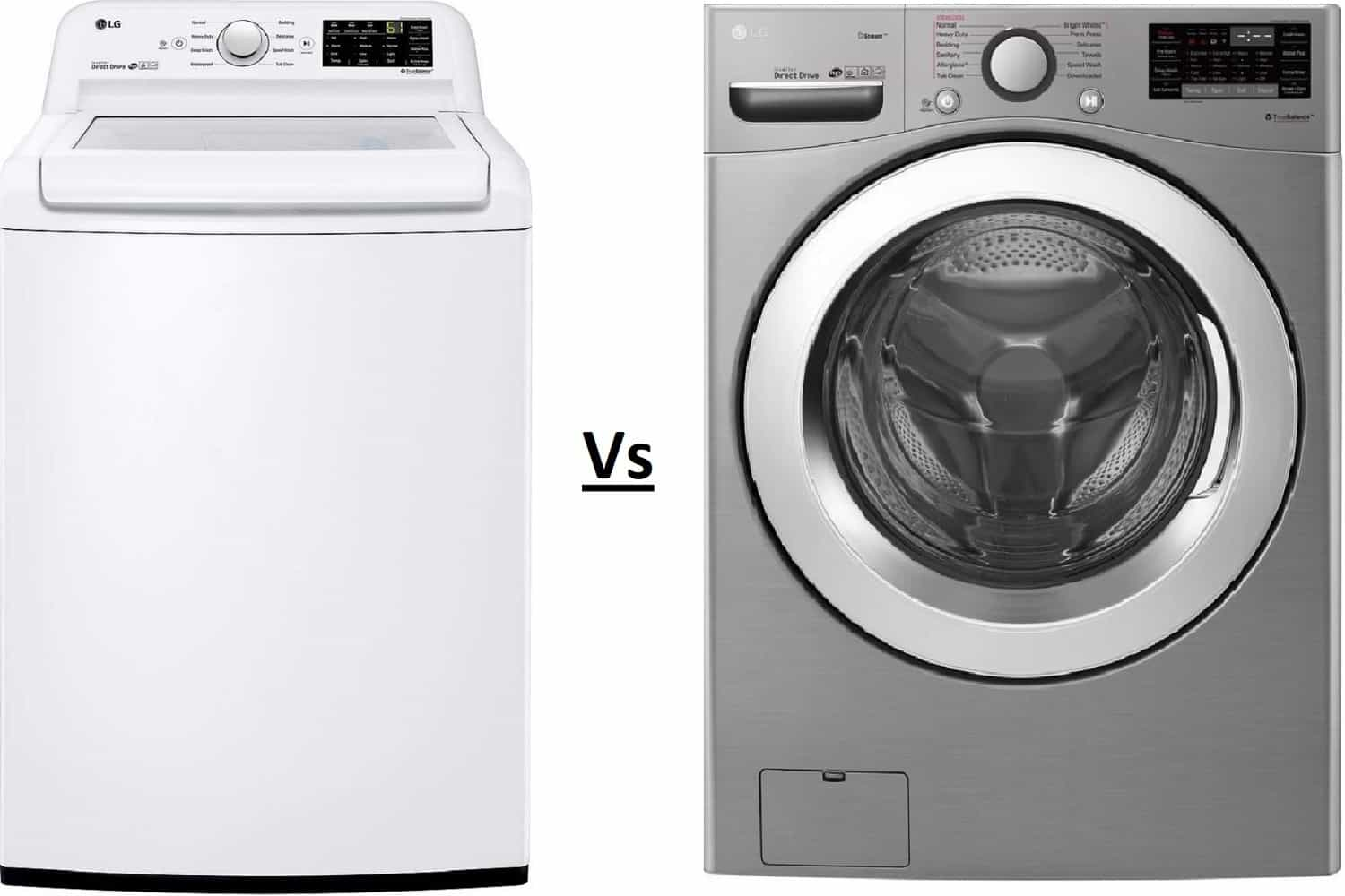 top load or front load washer