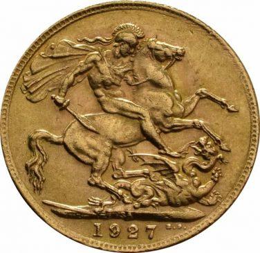 1927 George V Sovereign