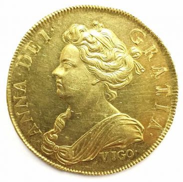 Queen Anne Vigo Five-Guinea