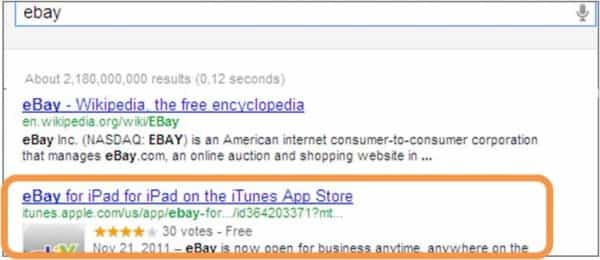 Visibility prominent in SERPs