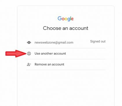 how do i change my default google account