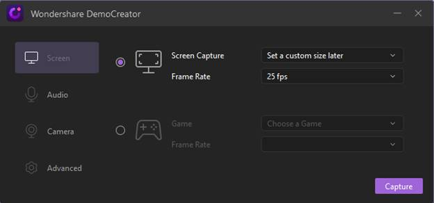 Screen Recording Feature