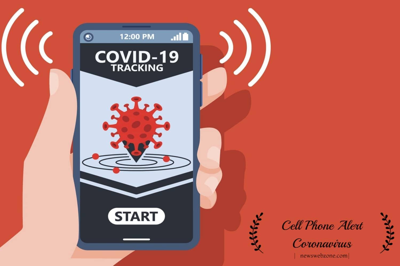 Cell Phone Alert Coronavirus