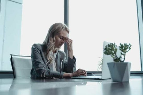 Ignoring signs of stress