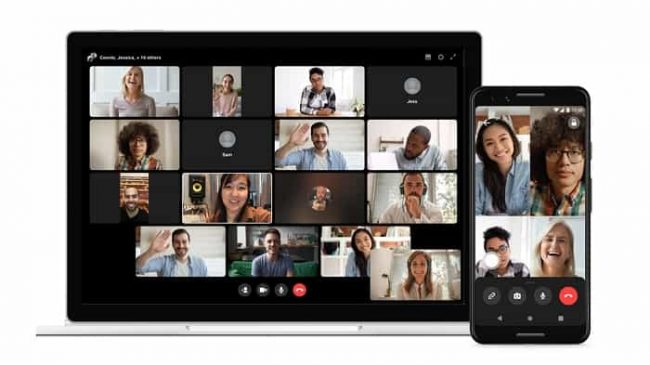 Facebook Workplace Screen sharing