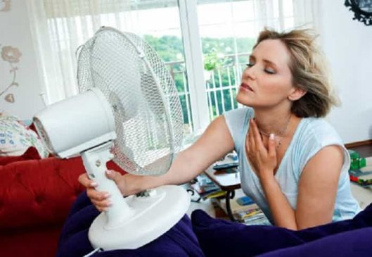 Hotcold flashes or flushes