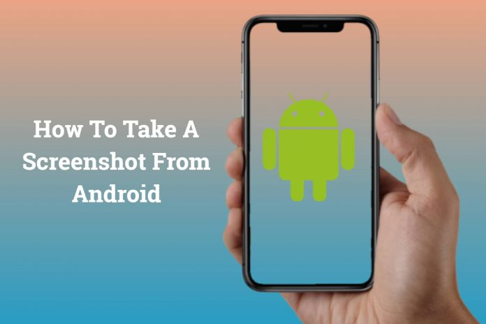 how to take a screenshot from android