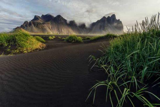 Beautiful Landscapes Vestrahorn Iceland
