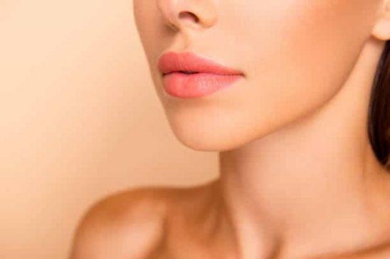Wrinkled lips