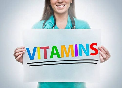 Deficiency of vitamins